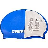 arena Unisex badmuts Classic siliconen (versterkte rand, minder wegglijden van de kap, zacht), Skyblue-White (77), One…