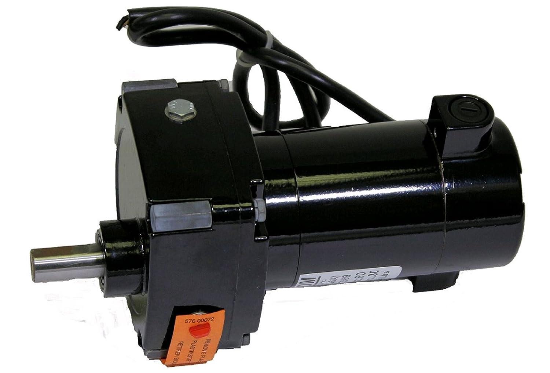Bodine Electric 0195 24A2BEPM-D3 Parallel Shaft DC Gearmotor, 60:1 Ratio, 36 lb per inch Torque, 1/29 hp, 42 RPM, 130V by Bodine Electric B00T6FFBJ0