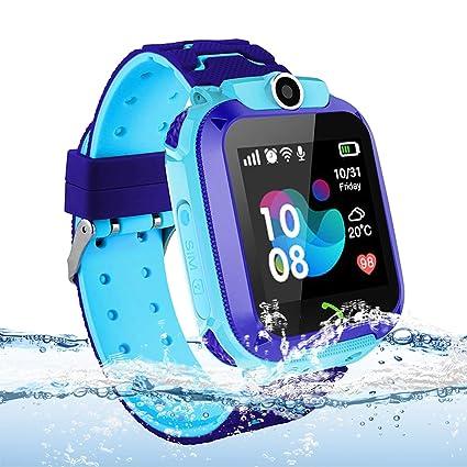 Reloj GPS para niños, inteligente para niños Micoke ...