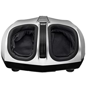 Belmint Shiatsu Foot Massager with Switchable Heat & Easy-to-Use Toe Control – Removable Cover for Easy Washing