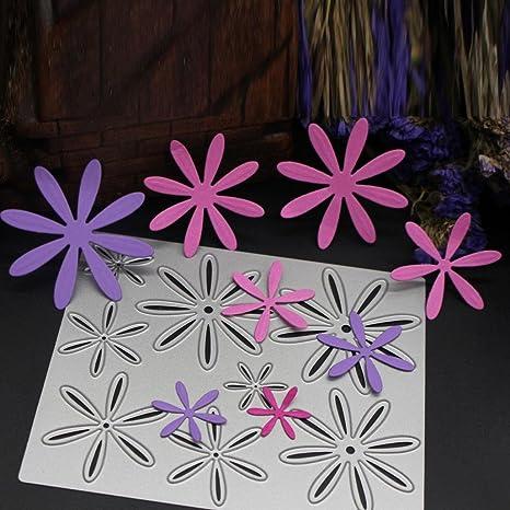Flower DIY Metal Cutting Die Scrapbook Album Paper Craft Decor Embossing Tools