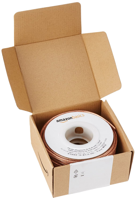 AmazonBasics Lautsprecherkabel 1,3 mm²: Amazon.de: Elektronik