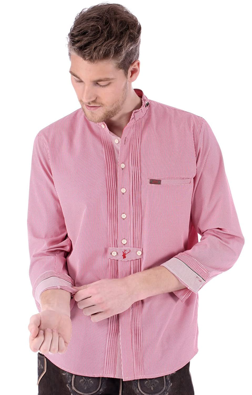 Spieth & Wensky Trachtenhemd Bruno rot