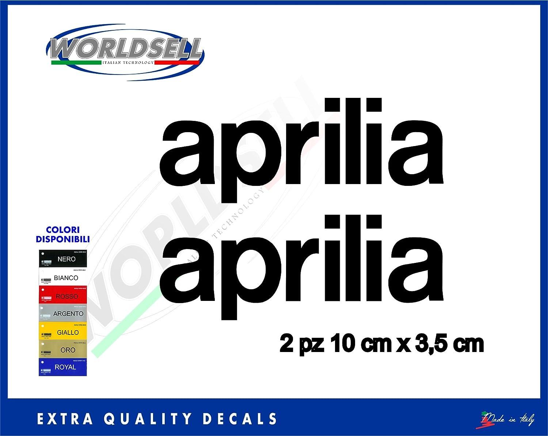 Pegatinas pegatinas de Aprilia RSV 4 rsv1000 RS 50125250 Shiver Sr Thunder R Caponord, dorado: Amazon.es: Deportes y aire libre