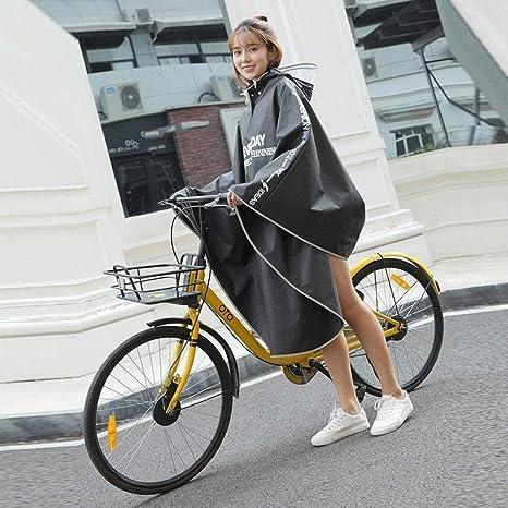 wasserdichter Poncho Fahrrad Radfahren Fahrrad reflektierende Streifen