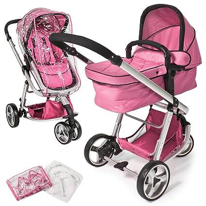 8b4c9d492 TecTake 3 en 1 cochecito Combi Buggy Baby Jogger Viaje Buggy cochecito Kids  - Varios colores