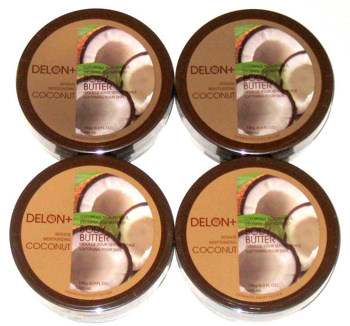 Amazon.com : DELON Intense Moisturizing Olive Body Butter 6.9 Ounce ...