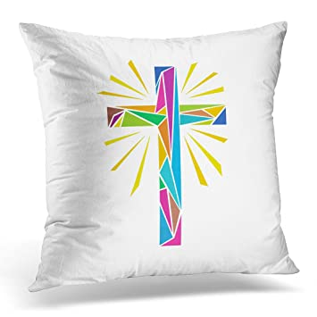 Amazon Emvency Throw Pillow Cover Catholic Church Christian