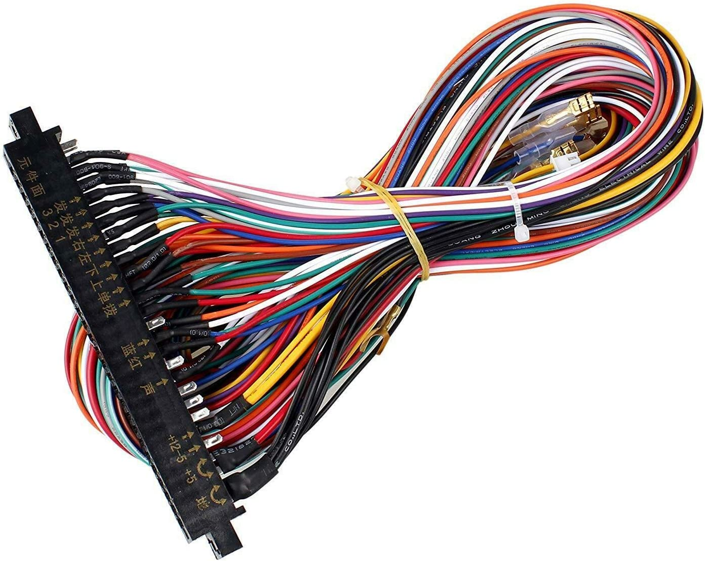 [DIAGRAM_5NL]  Amazon.com: Atomic Market 28 Pins Jamma Harness Cabinet Wire Wiring Loom  for Arcade Game PCB Video Board: Toys & Games | Custom Harness Wiring Looms |  | Amazon.com