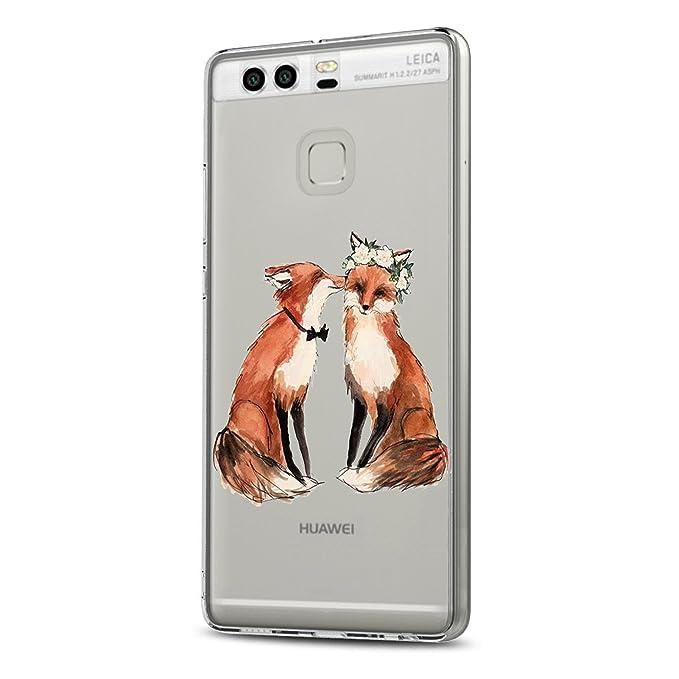 Funda Huawei P9, Huawei P9 Plus Funda Gel Silicona Case ...