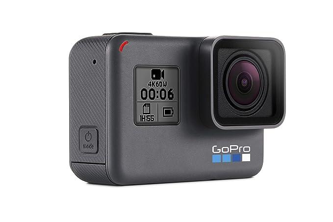 GoPro Hero6 Videocámara de acción (4K, 12 MP, resistente y ...