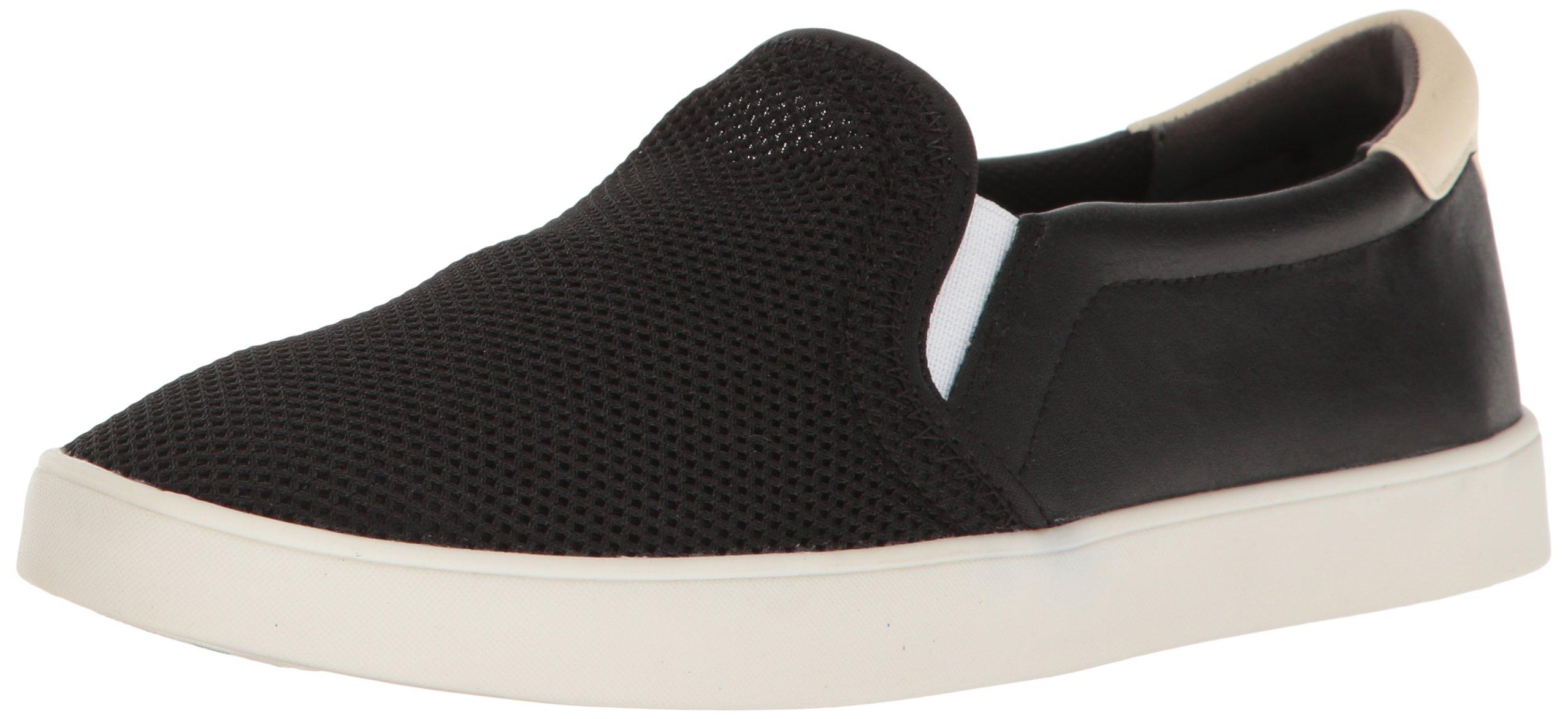 Dr. Scholl's Shoes Women's Madison Fashion Sneaker, Black Luna Knit, 7.5 M US