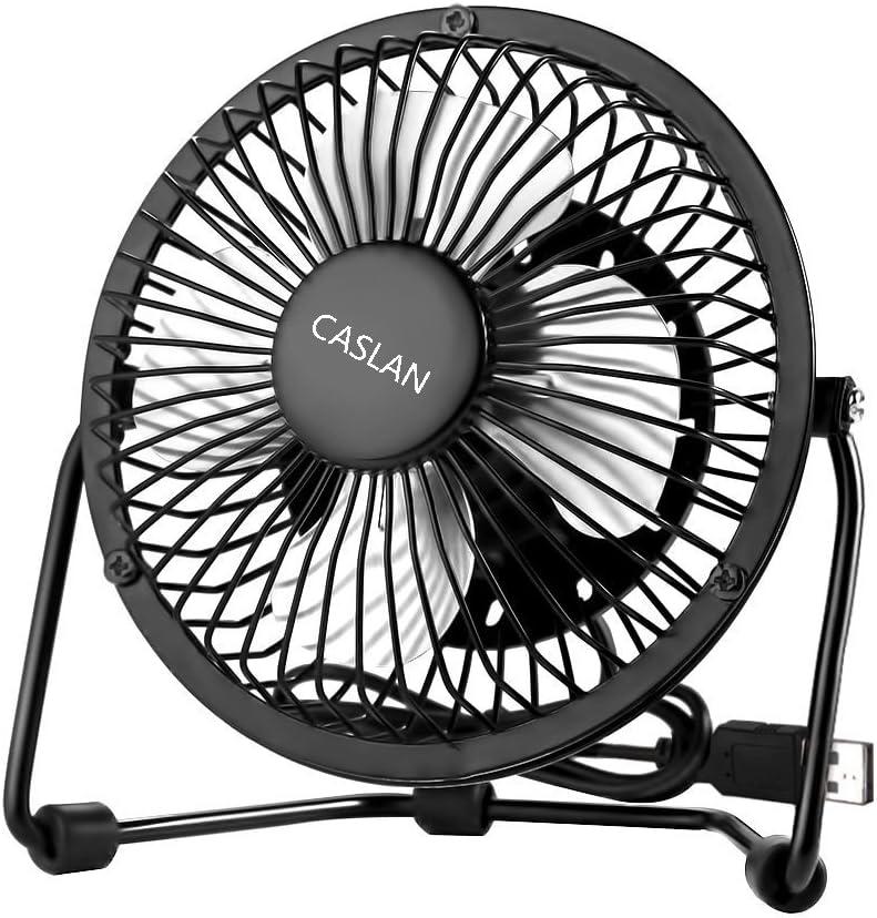 LFLDZ Ventilatore Senza Lame Fan a Ventola USB Low Noise Cooling Ventilatore Portatile Leggero Portatile per Home Bedroom Baby Room,Pink