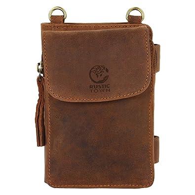Amazon.com: portafolios de viaje clásico estuche de piel ...