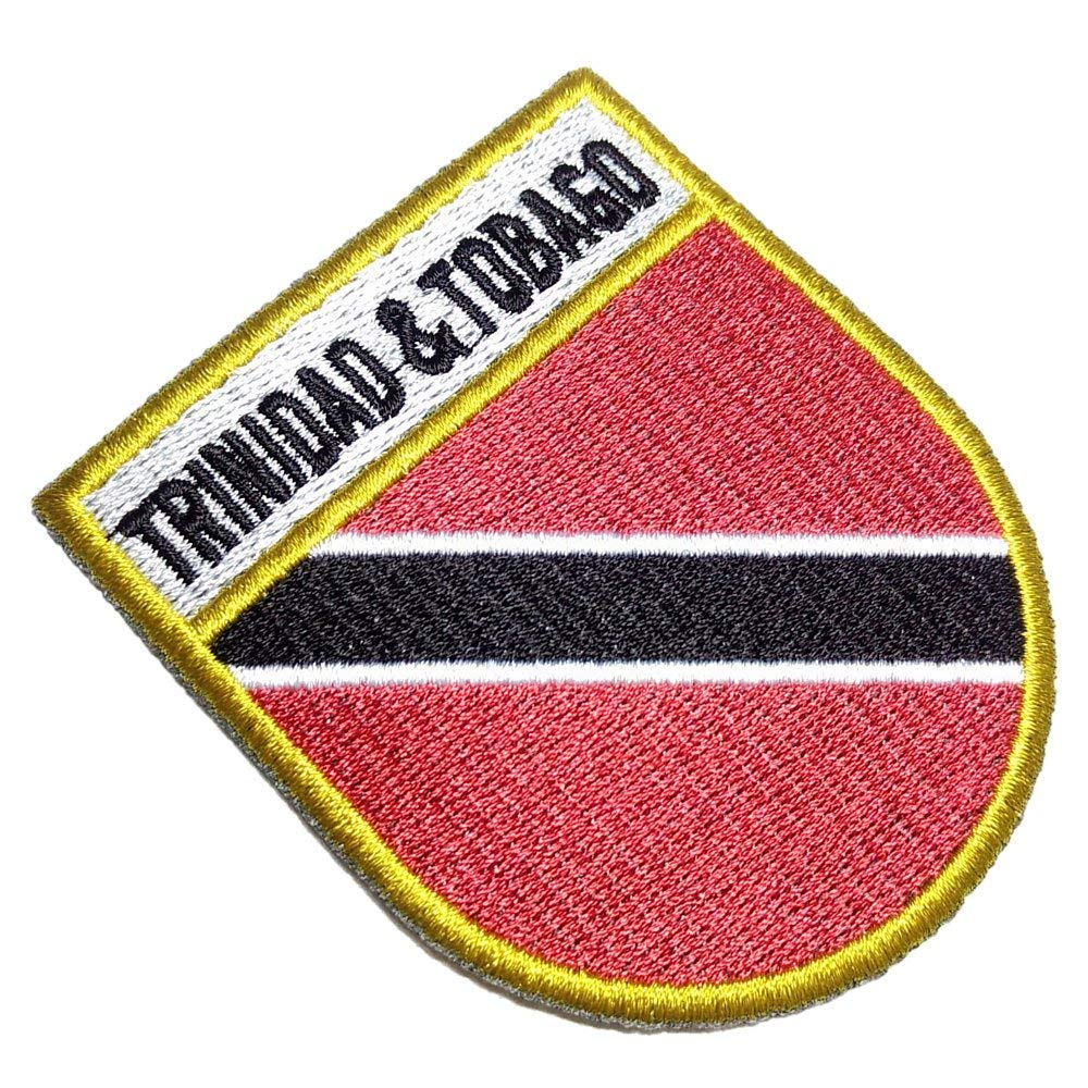 Bahrain Flag Shield Embroidered Patch Badge LAST FEW