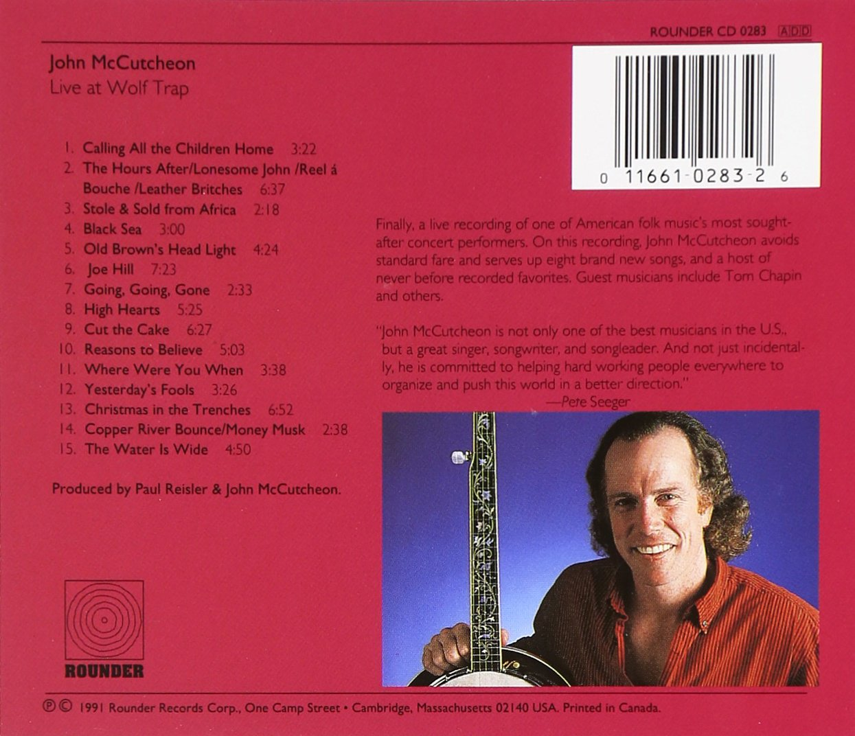 John McCutcheon - Live at Wolf Trap - Amazon.com Music