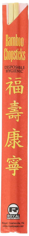 Royal Premium Disposable Bamboo Chopsticks, 9