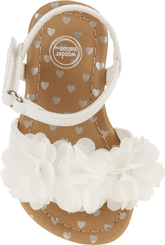 Wonder Nation Baby Girls' Dressy Flower