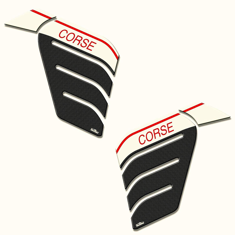 Adesivi 3d Protezioni Laterali 01 Compatibili Con Ducati Multistrada 950