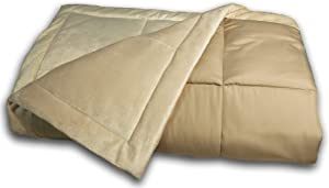 Blue Ridge Home Fashions Microfiber-Plush Down Alternative Kahki Color Blanket/Throws, one Size