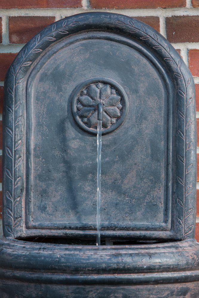 Alfresco Home Resin Cologne Outdoor Wall Fountain by Alfresco Home
