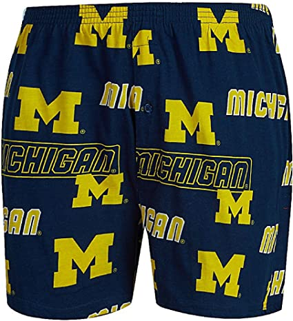 Concepts Sport Mens West Virginia Mountaineers Boxer Shorts