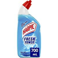 Harpic Fresh Power Liquid Toilet Cleaner Marine Splash, 700, Marine Splash