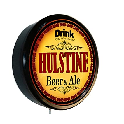 Amazon.com: HULSTINE Beer and Ale Cerveza Lighted Wall Sign: Home & Kitchen