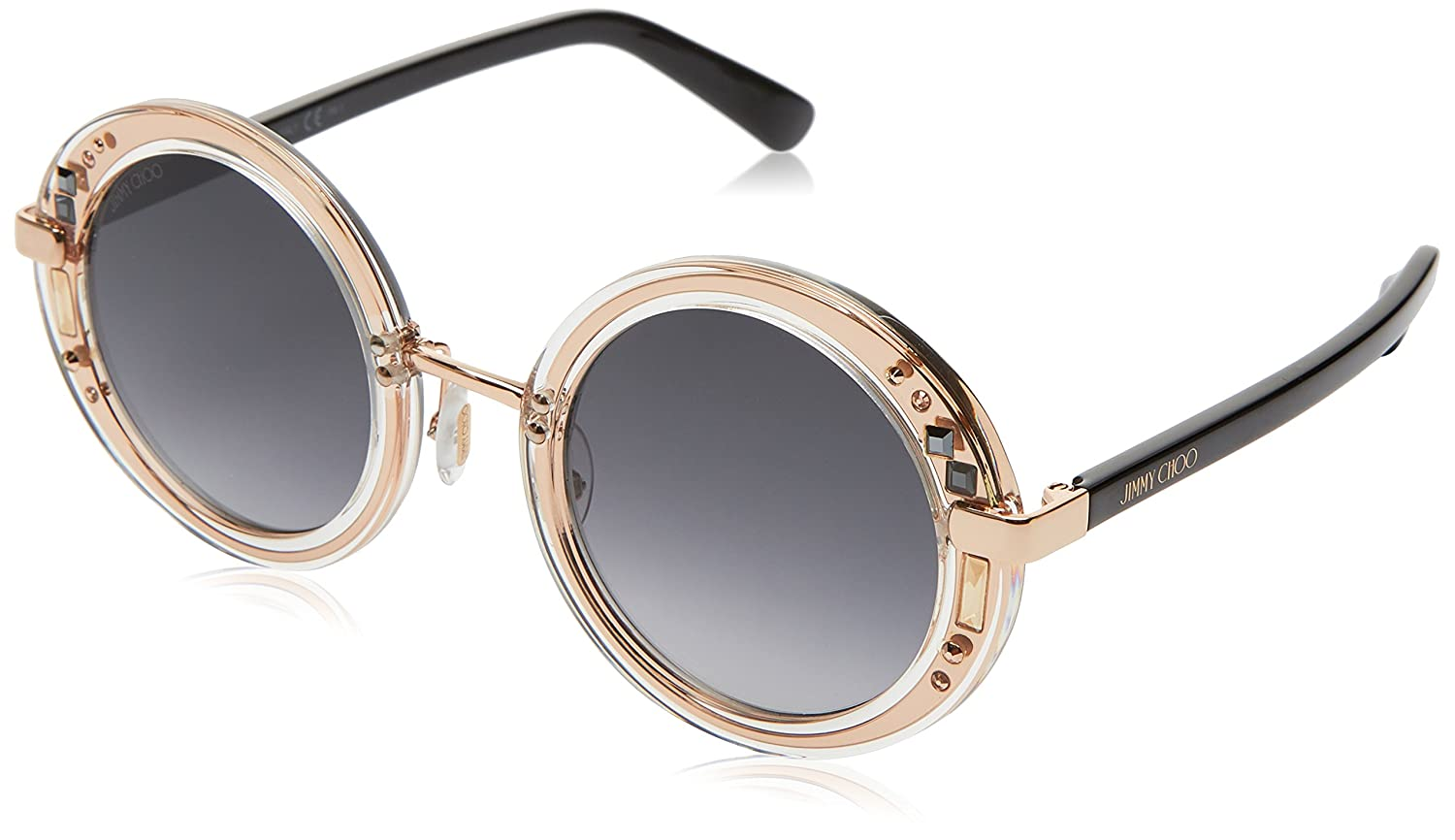 4ce92a12f Amazon.com: Gucci Women's Crystal Red Sunglasses with Brown Lens: Jimmy  Choo: Clothing