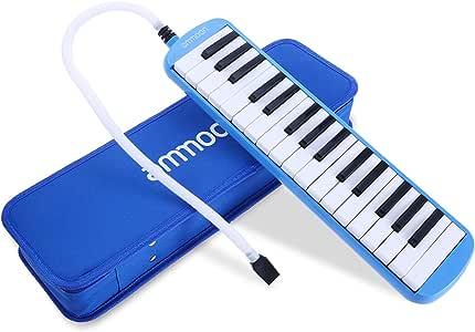 ammoon 32 llaves Melodica Pianica Estilo Piano Teclado Armónica ...