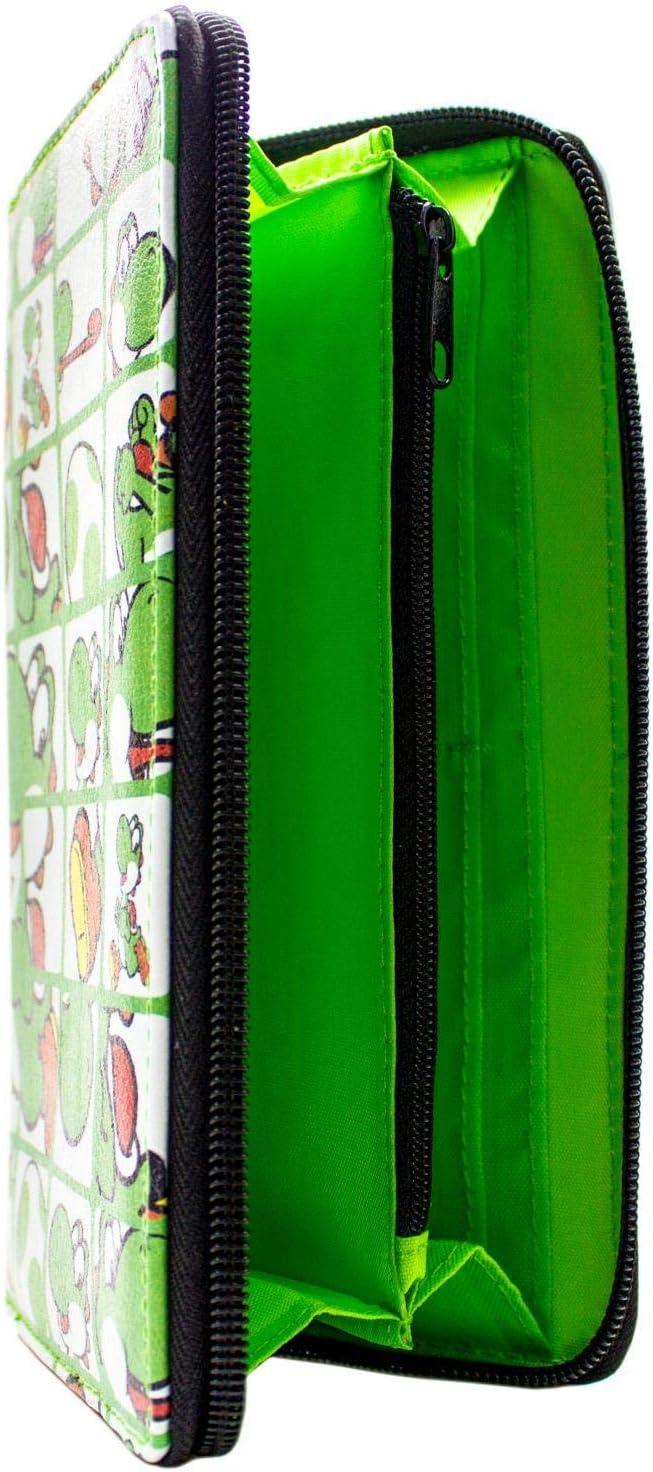 Cartera de Super Mario Bros. Yoshi Egg Sujetador Verde: Amazon.es: Equipaje