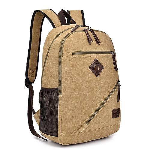 Outreo Bolso Hombre Mochilas Escolares Bolsos de Tela Colegio Bolsos Bandolera de Lona Bolsas de Viaje Baratos Mochila Sport Outdoor Vintage Bag para ...