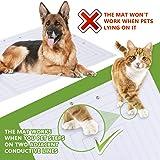 Upgraded Pet Scat Cat Mat,44''x17''Pet Training