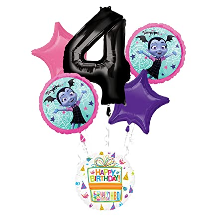 Image Unavailable Not Available For Color Mayflower Products Vampirina 4th Birthday Party Supplies