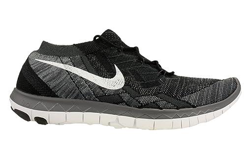 new style 7b75b 7f46f Nike Free 3.0 Flyknit Zapatillas de Running, Hombre, Negro, 47 1 2   Amazon.es  Deportes y aire libre