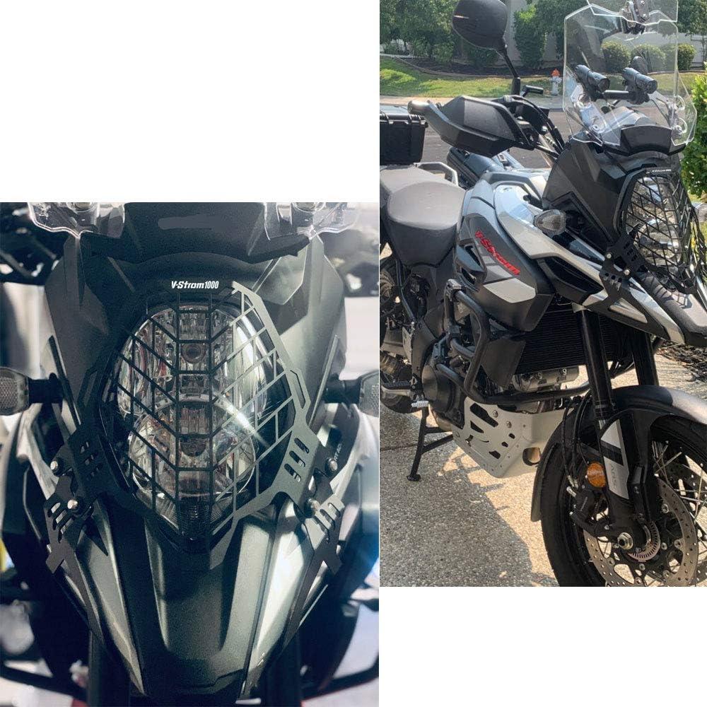 Motorrad Scheinwerfer Abdeckgitter Schutz Für Suzuki V Storm 1000 Dl1000 2017 2019 Auto