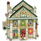 Department 56 Dickens Village Criterion Magic Lantern Theatre Lit Building, Multicolor
