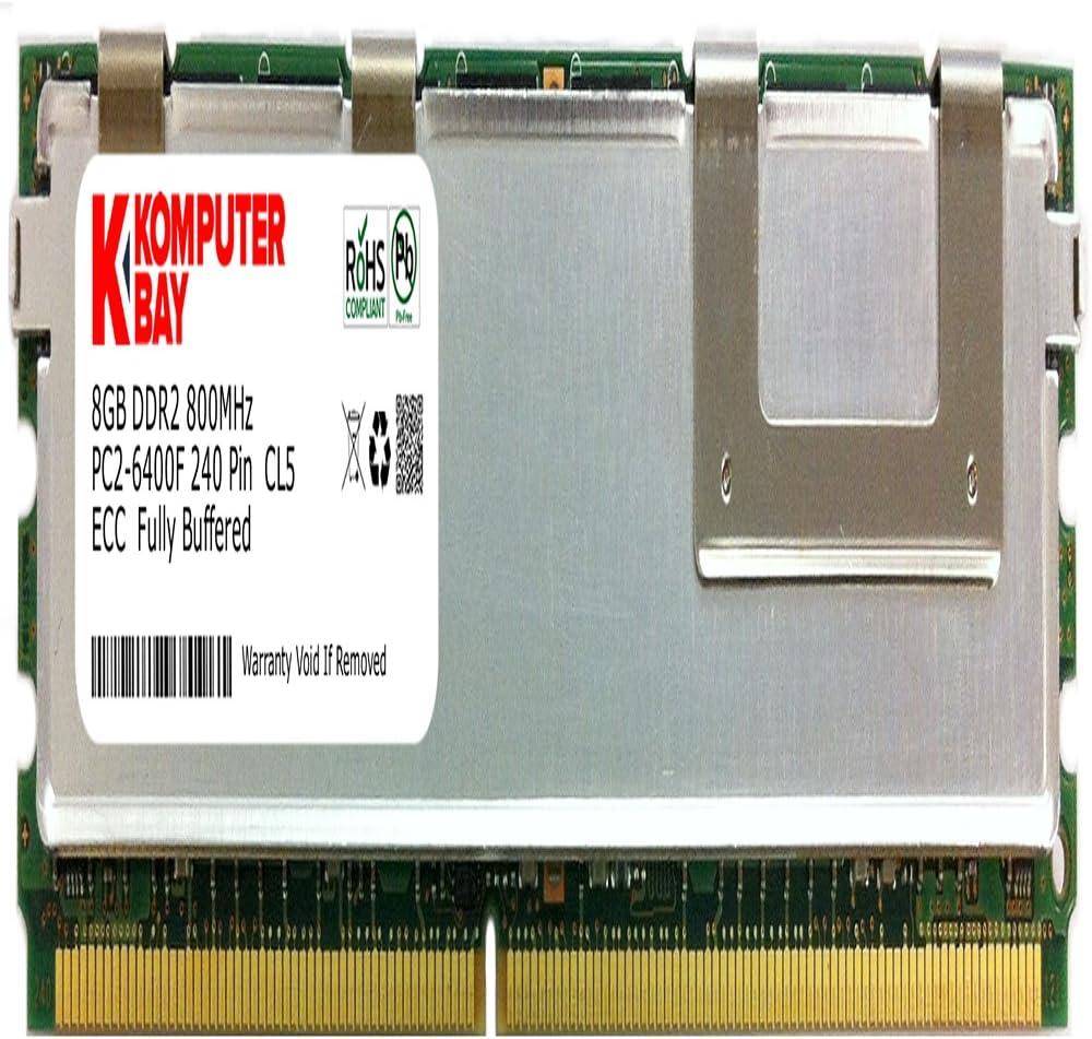 KOMPUTERBAY 8GB DDR2 667MHz FBDIMM Desktop Server Memory