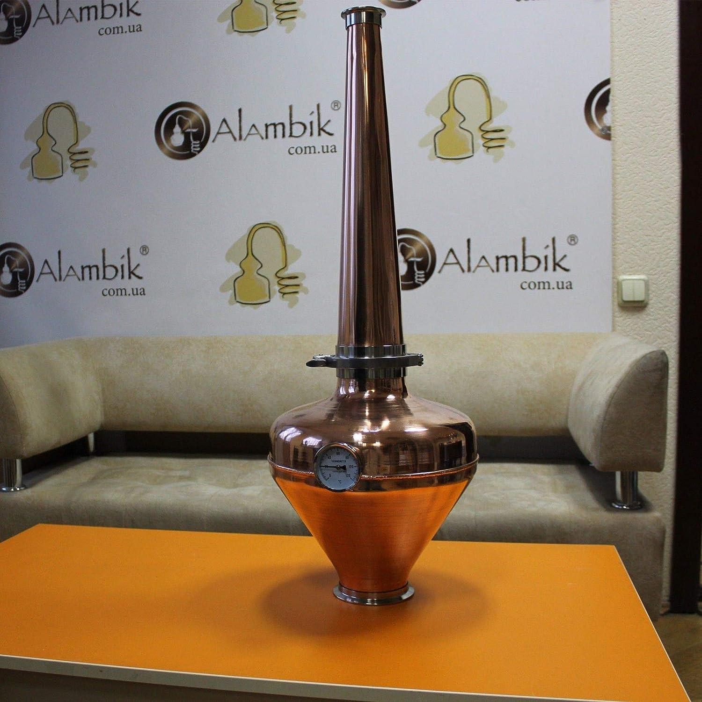 Copper whiskey helmet /& Column Onion Bulb 4 Flute still Moonshine Distiller set