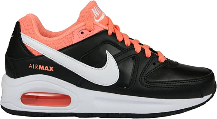 Nike - Zapatillas para niña Black/White/Atomic Pink: Amazon.es ...
