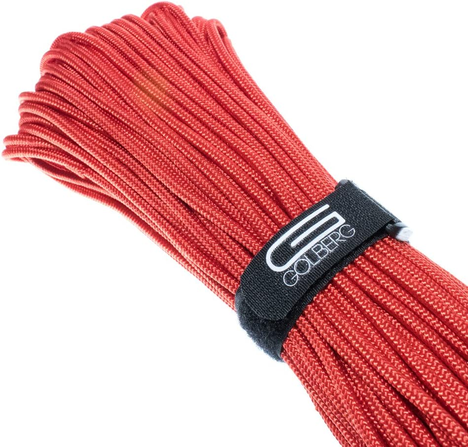 Golberg Premium Polyester Accessory Cord and 1000 Feet or 6mm USA Made Smooth Braid Minimal Stretch Rope Sizes of 3mm 4mm 5mm 50 Compact and Lightweight Cord 250 Lengths of 25 100