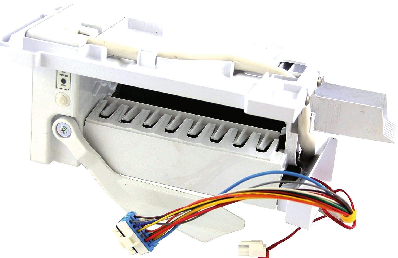 Bosch 00658257 Refrigerator Ice Maker Genuine Original Equipment Manufacturer (OEM) part for Bosch