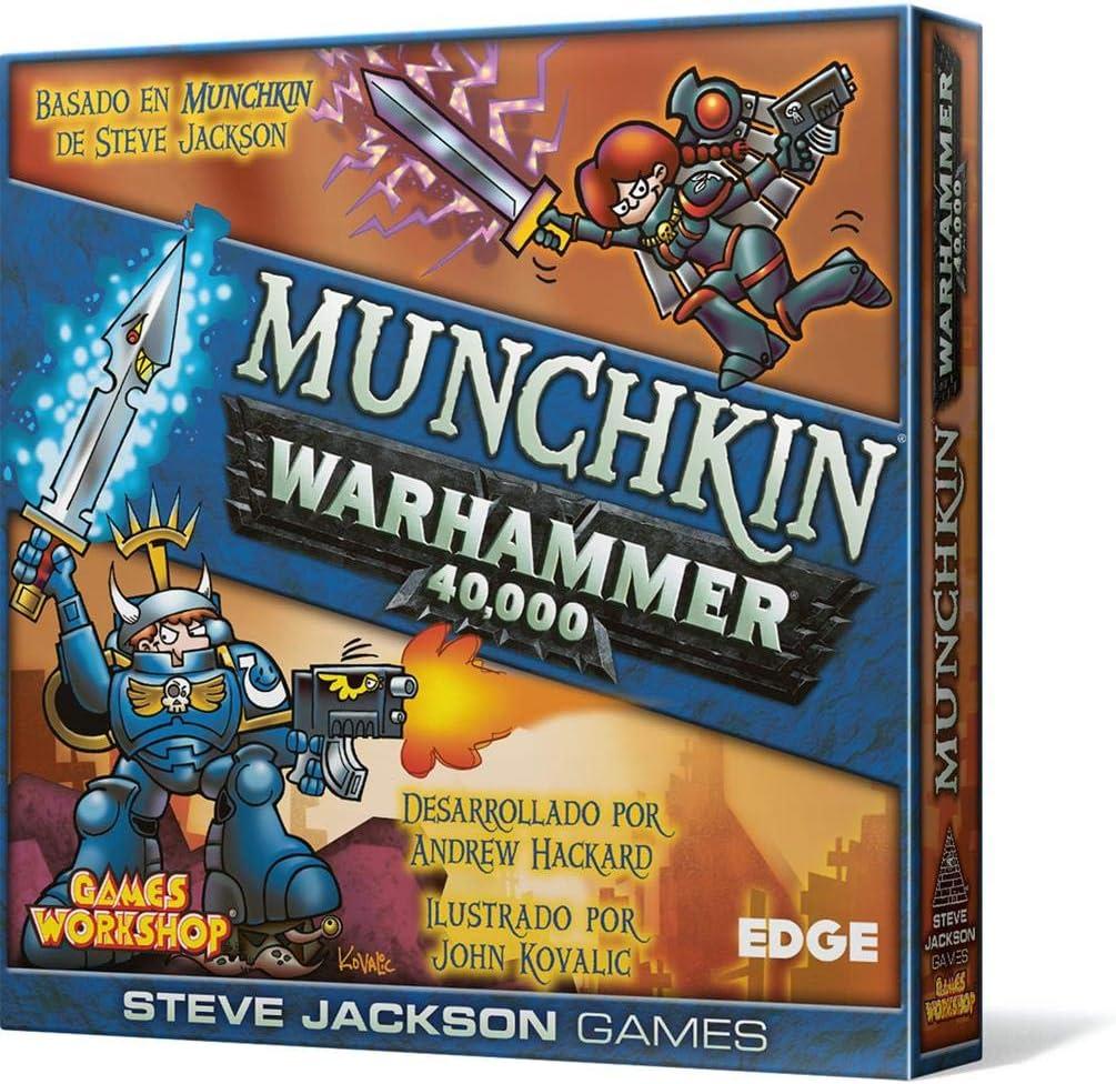 Edge Entertainment- Munchkin Warhammer 40.000-Español, Color (EESJMW01): Amazon.es: Juguetes y juegos