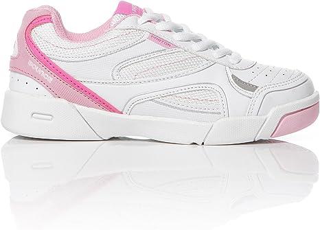 Zapatillas Tenis Blancas Rosa Niña Proton (26-35) (Talla: 31): Amazon.es: Deportes y aire libre