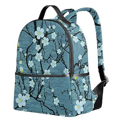 87c0dbccc9f8 VAWA リュックサック 高校生 女子 大容量 梅花 花柄 おしゃれ きれい 幾何学模様 リュック