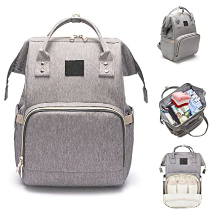 Mochila para bolsas de pañales, de gran capacidad y fundas para pañales de viaje a