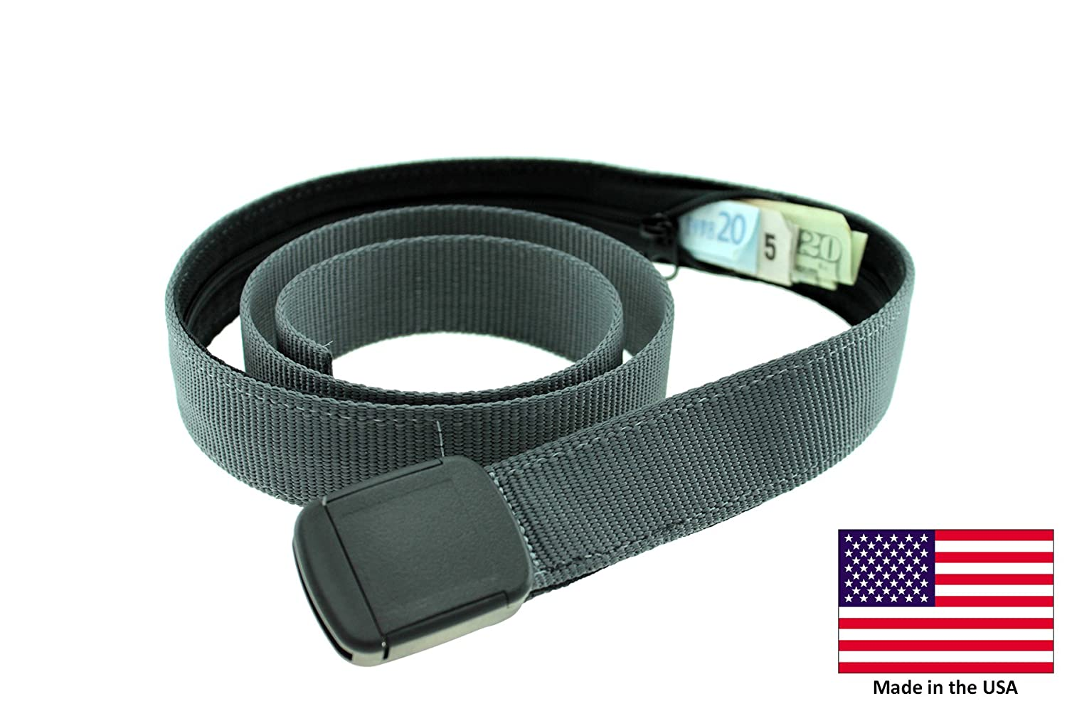 Hiker Money Belt Made in USA by Thomas Bates 6778371