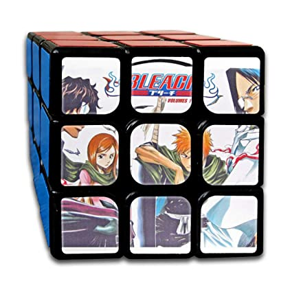 Amazon.com: Bleach Differentiate Cube 3x3 Magic Smooth Cube ...