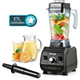 Professional Blender MengK 2000W High Speed Electric Total Nutrition Food Processors with 67oz BPA-Free Pitcher for Ice Fruits Vegetables Smoothies Soups Mayonnaise, etc - (Commercial / Kitchen) …