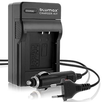 Nuevo Original Blumax cargador + coche-cargador para Canon ...